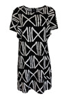 My Soul Dress Graphic 5510, Black