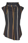 Trine Kryger Simonsen TOP ALEX, Multi Black