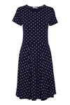 Fransa FRcidot 2 Dress, Maritime Blue mix