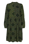 Fransa FXTIDITSY 4 Dress, Green mix