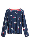 Sandwich Blouses Other SW1457, Navy
