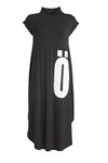 NÖR DENMARK JERSEY DRESS 83.100, BLACK