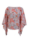 Charlotte Sparre Kaftan Blouse 1915 Rose, Sweet Bird Allover