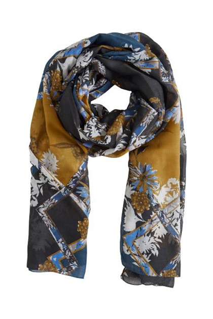 Fransa FAFAMIX 1 Scarf, Reflecting Pond mix