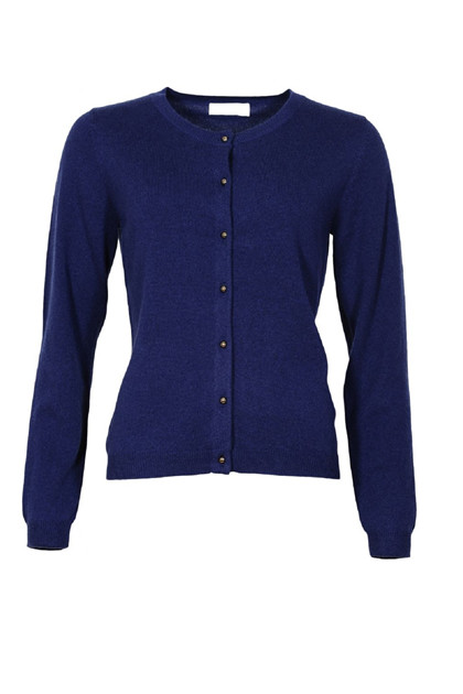 Margit Brandt LAMA cardigan MB1009, Royal Blue