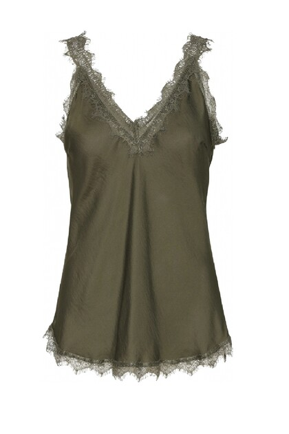 Costamani Moneypenny top, Army