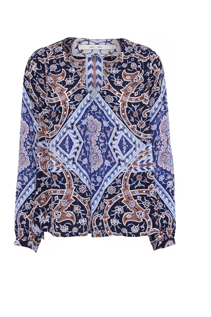 Costamani King blouse, Blue tone
