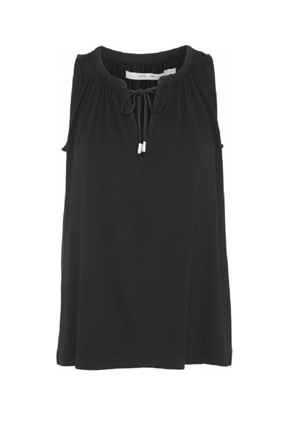 Costamani 	Vinni top, Black Jersey