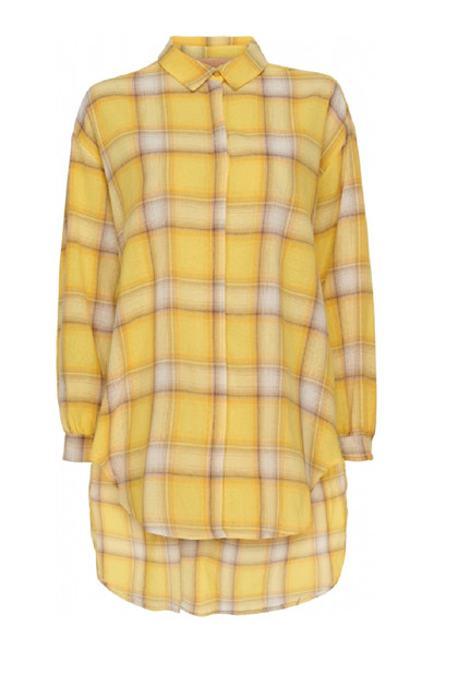 Martha du Chateau skjorte SS83215, Yellow