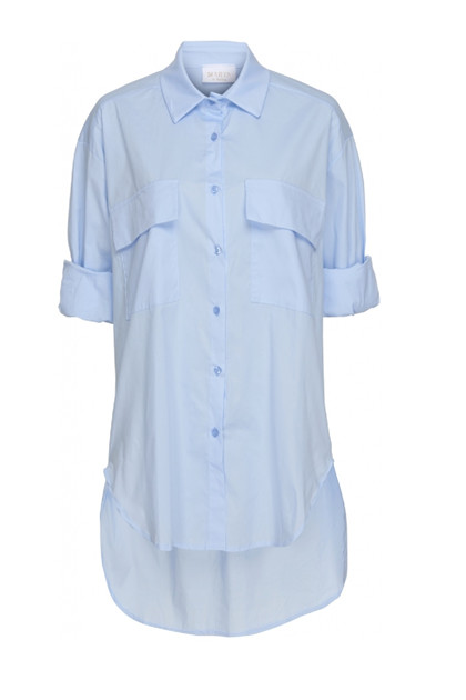 Martha du Chateau Shirt  85010,  Lightblue