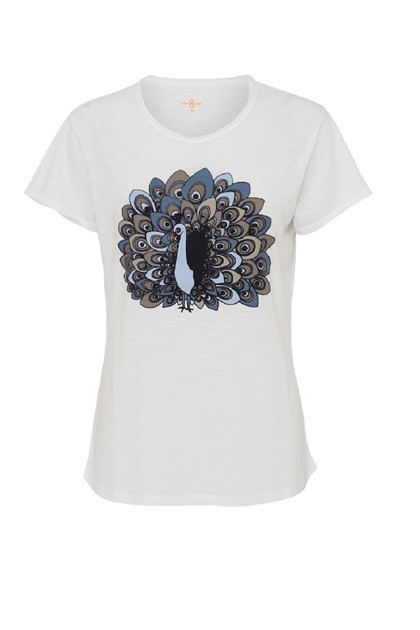 Costamani PEACOCK t-shirt, White
