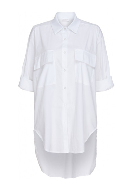 Martha du Chateau Shirt  85010,  White