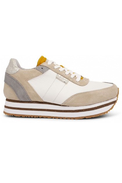Woden Sneakers AVA SUEDE, Light Sand