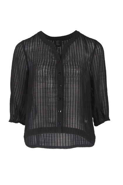 E Avantgarde shirt 12410, Black