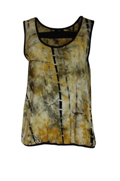 My Soul top Tiedye 0518, Army/Print