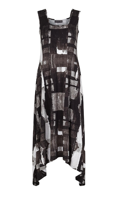 Trine Kryger Simonsen DRESS MADELEINE, Black