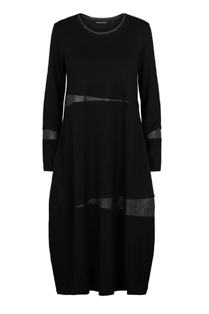 Trine Kryger Simonsen DRESS YUA , Black