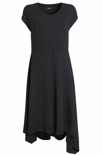 NÖR DENMARK BOLD DRESS 20.174, BLACK