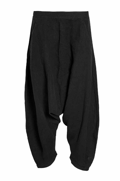 NÖR DENMARK ELEVATED BAGGY PANTS 20.200, BLACK