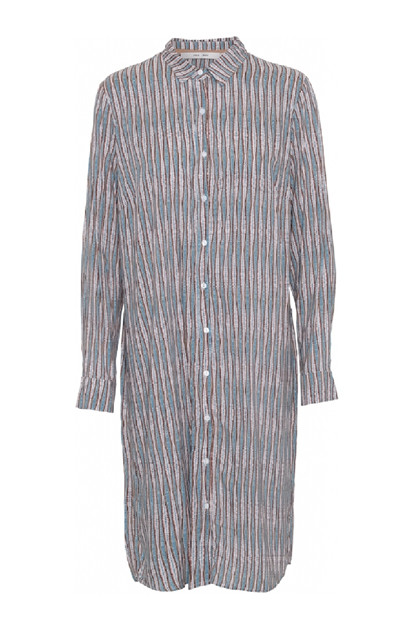 Costamani CHARLOTTA dress,  Blue dot stripe