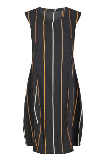 Trine Kryger Simonsen DRESS LILIBETH, Multi Black