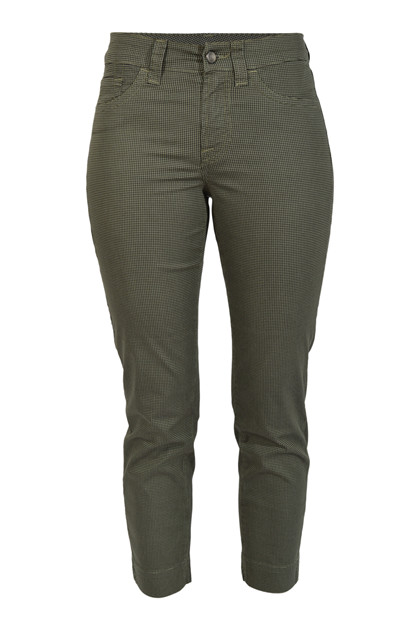 Jonny Q Jeans SABRINA STRETCH VICHY Q4594, Military Green