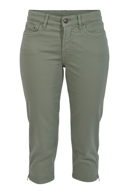 Jonny Q Jeans PAMELA STRETCH SATEEN Q4317/1, Military Green