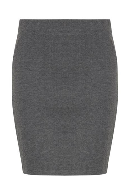 Fransa NISTRETCH 2 Skirt, Asphalt melange