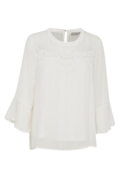 Fransa Oscrepe 1 Blouse 20604014,  Antique