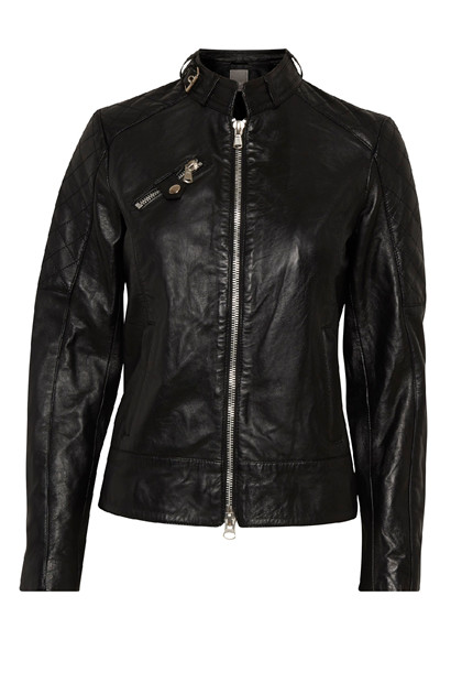 Fransa FRcaleather 1 Jacket LUXE, Black