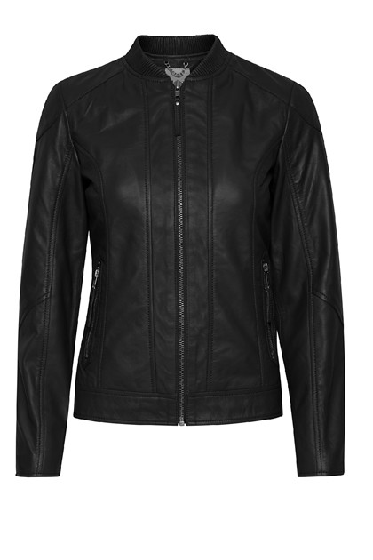 Fransa FRLALEATHER 1 Jacket LUXE, Black