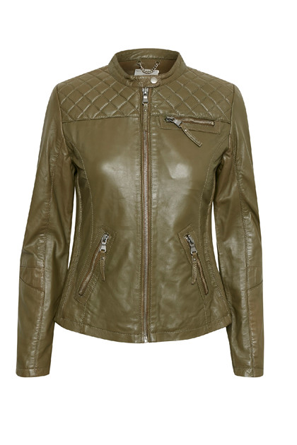 Fransa FRMALEATHER 1 Jacket, Beech