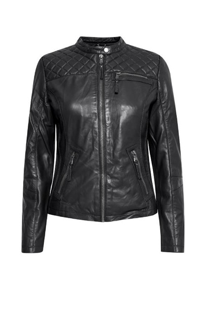 Fransa FRMALEATHER 1 Jacket, Black