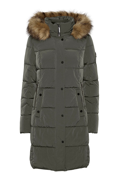 Fransa FRBABAC 1 Outerwear, Green Ink