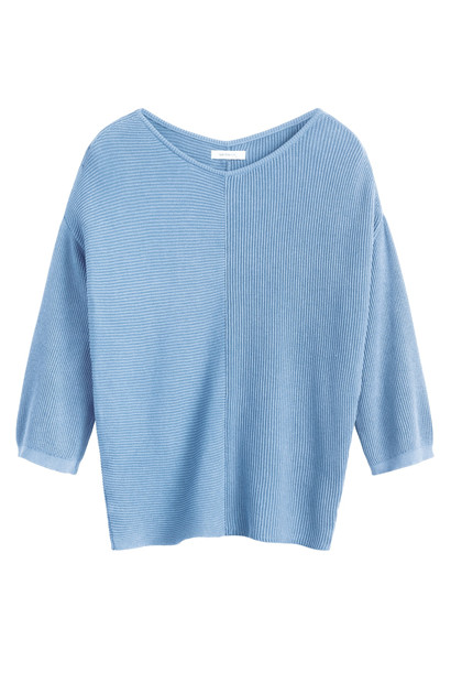 Sandwich Pullover Long Sleeves SW1303, Fresh Blue