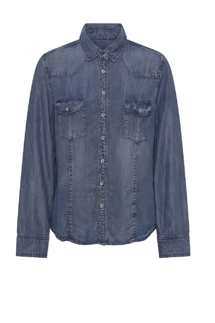 Coatamani Morrison shirt, Blue