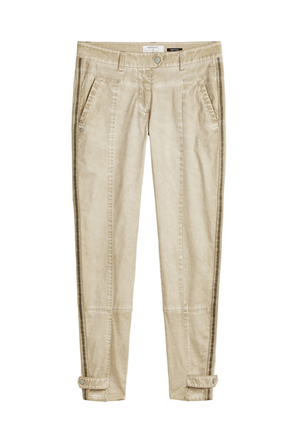 Sandwich Trousers Casual Long SW1335, Humus