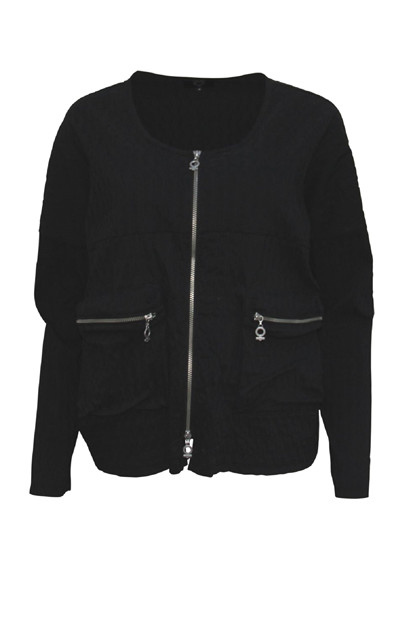 My Soul BUBBLE Jacket 2403, Black