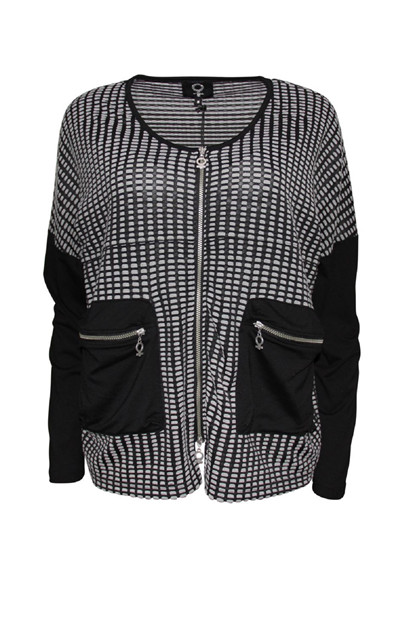 My Soul CHECK Jacket 2405, Black
