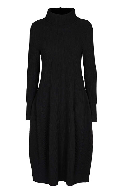 Trine Kryger Simonsen DRESS EBBA, Black