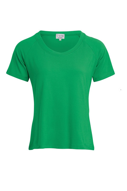 Charles Design T-shirt KAREN, Green