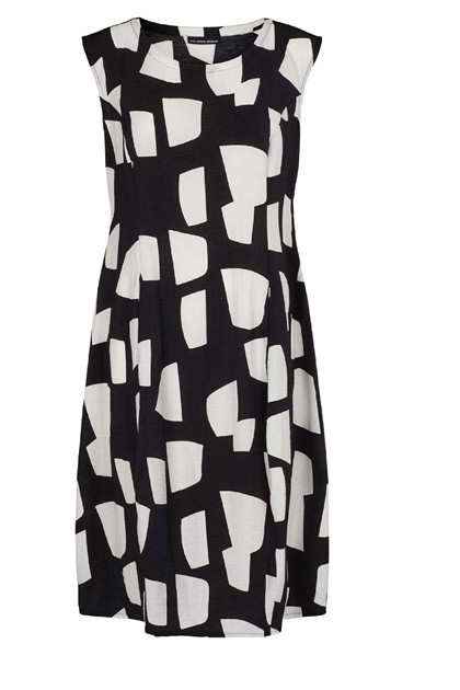 Trine Kryger Simonsen DRESS LILIBETH 305050, Black/white