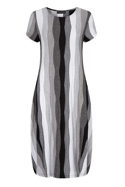 Trine Kryger Simonsen DRESS MARISOLE 306550, Multi-grey