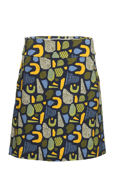 Charles Design Skirt Amanda, Green Marine