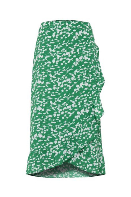 Fransa FRcatalk 3 Skirt, Jolly Green mix