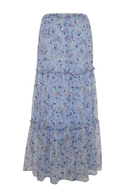 Fransa FRDACHIF 4 Skirt, Cornflower Blue mix
