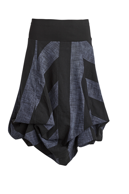 NÖR DENMARK DIVINA SKIRT 83.125, DARK BLUE