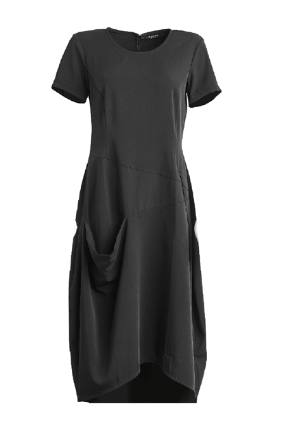 NÖR DENMARK STEFFI DRESS 83.233, BLACK