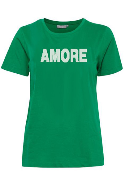 Fransa FRciorganic 1 T-shirt, Jolly Green