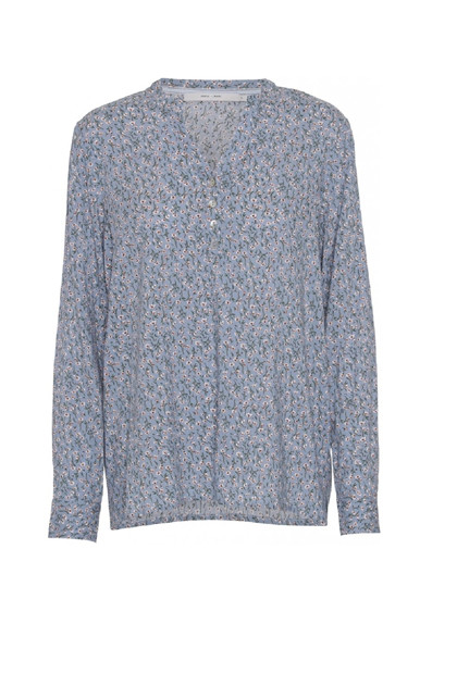 Costamani Alexia shirt - Blue white flower